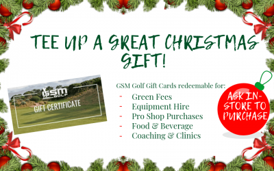 Tee up a Great Christmas Gift!