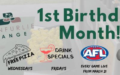 First Birthday Celebrations at Ranfurlie Range