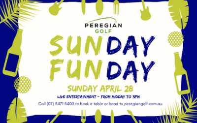 Upcoming Sunday Funday at Peregian Golf
