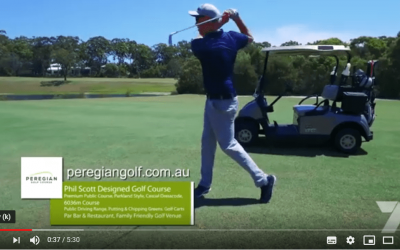 Peregian Golf features on National Television
