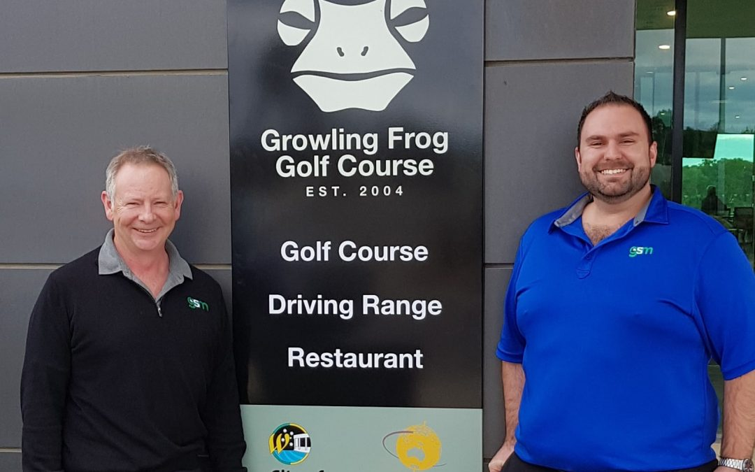 GSM Golf Assumes Management of Growling Frog