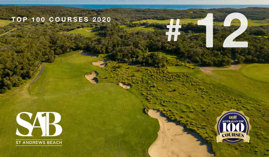 St Andrews Beach – #12th Ranked Course In The Country