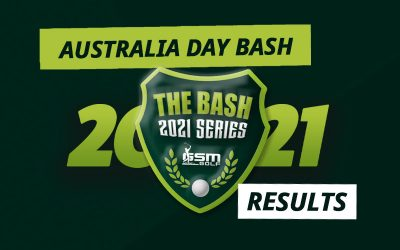 RESULTS – 2021 'Australia Day Bash' at Bay Views & Peregian