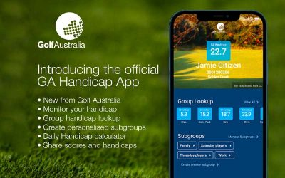 The Official GA Handicap App is now available!