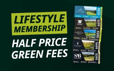 Lock In HALF PRICE Green Fees With A Lifestyle Golf Pass
