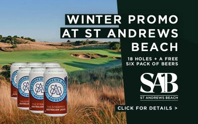 Score A FREE 6 Pack Beers at St Andrews Beach!